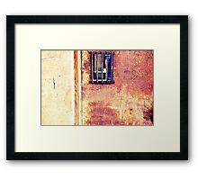 west end wall Framed Print