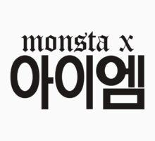 Monsta X I.M Name/Logo by PaolaAzeneth