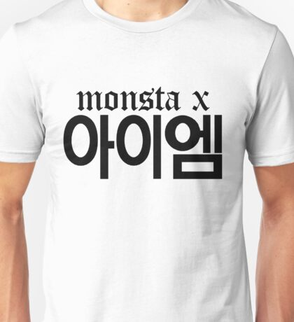 Monsta X I.M Name/Logo Unisex T-Shirt
