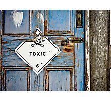 Toxic 6 Photographic Print