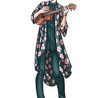 Ukelele Kimono by poweredbyc0ke