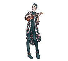 Ukelele Kimono Photographic Print