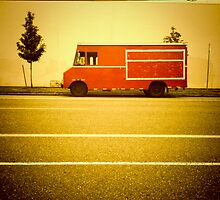 Red Truck - Portland, Oregon by KeriFriedman
