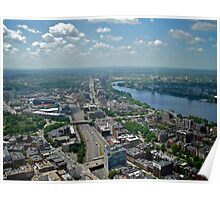 Fenway Park and the Charles River - Boston © 2010 *featured Poster