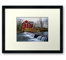 War Eagle Mills Framed Print