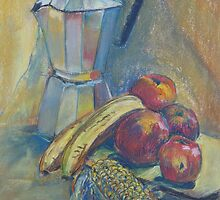Coffee Pot Still Life by Peter Johnson