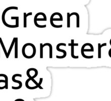 Nicknames Sticker