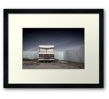 """Well we know where we've been, but we don't know where we're goin"". Framed Print"