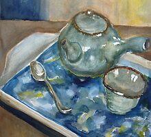 Japanese Tea Set by Peter Johnson