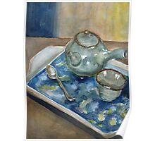 Japanese Tea Set Poster