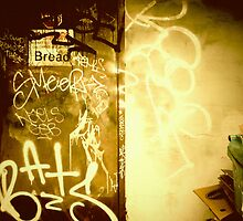 Bread & Graffiti - Portland, Oregon by KeriFriedman