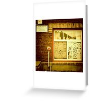 Paper Cut-Outs - Portland, Oregon Greeting Card
