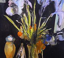 Irises by Peter Johnson