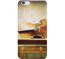Broken cello  iPhone Case/Skin