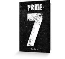 7 Deadly sins - Pride Greeting Card