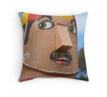 Bollards 2, Geelong Throw Pillow
