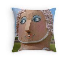 Bollards 3, Geelong Throw Pillow