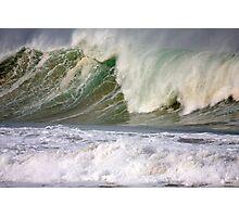 Surfs Up Sands Up Photographic Print