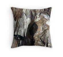 Patterns in Driftwood (3) Throw Pillow