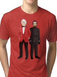 Doctor Who - Third Doctor and The Master Tri-blend T-Shirt