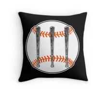 Jack White III - Baseball Logo (San Francisco Giants Edition) Throw Pillow