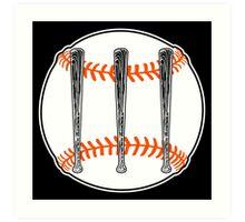 Jack White III - Baseball Logo (San Francisco Giants Edition) Art Print