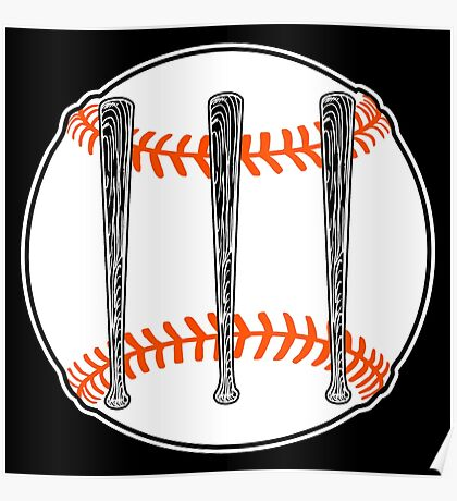 Jack White III - Baseball Logo (San Francisco Giants Edition) Poster