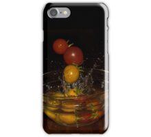 Splashing Tomatos iPhone Case/Skin