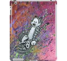 "Ode to Bill Watterson - ""Slime Sledding"" iPad Case/Skin"
