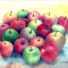 Just Apples by arline wagner