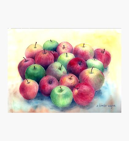Just Apples Photographic Print