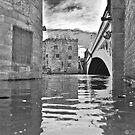 York Lendal Bridge Flood by Kevin Bailey
