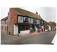 The Star Inn: Alfriston, East Sussex, UK. Poster
