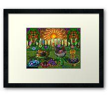 The Apo Picnic Framed Print