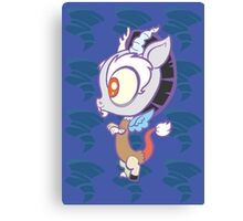 Weeny My Little Pony- Discord Canvas Print