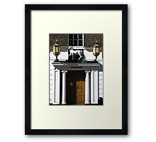 The White Horse Hotel, Ipswich, Suffolk Framed Print