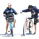 Two Biker by saseoche