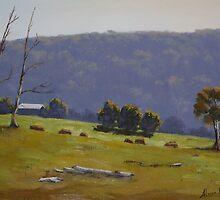 Megalong Morning - Oil Painting by Alison Murphy
