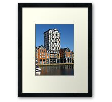 Appartments, Ipswich Waterfront Framed Print