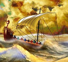 The Vikings are Coming by Dennis Melling