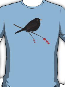 Cute Blackbird T-Shirt