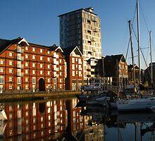 Apartments on the Quay, Ipswich, Suffolk by wiggyofipswich
