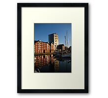 Apartments on the Quay, Ipswich, Suffolk Framed Print