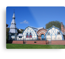 The Pump Rooms, Tenbury Wells Metal Print