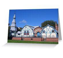 The Pump Rooms, Tenbury Wells Greeting Card