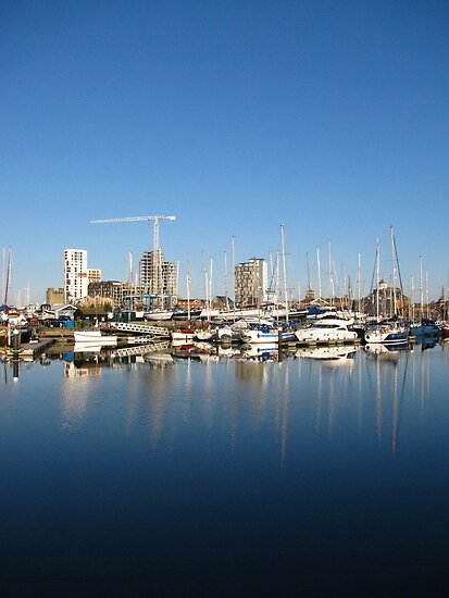 ' What Lies Beneath ? ' Ipswich Waterfront by wiggyofipswich