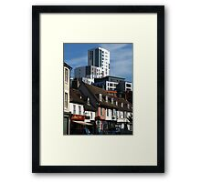 The Mill and St Peters Street, Ipswich Framed Print