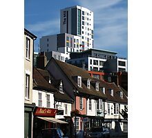 The Mill and St Peters Street, Ipswich Photographic Print
