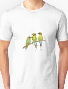 Rainbow Bee Eater Bird Unisex T-Shirt