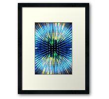 Motion Sphere 1 Framed Print